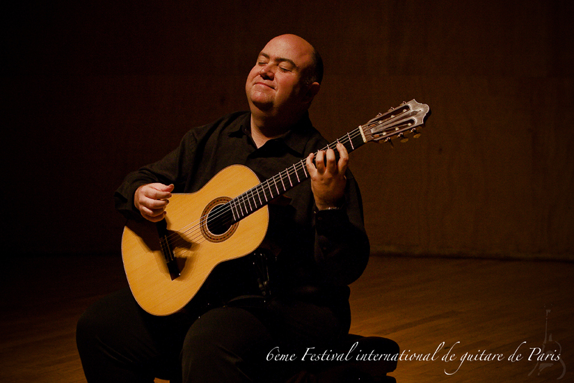 festival international de guitare de paris 2008 photo jacques pasqueille Scott Tennant 23